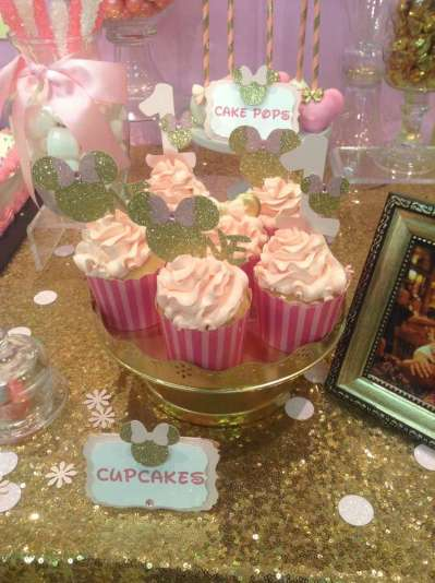 Royal Minnie Mouse Theme Birthday Party Food 7