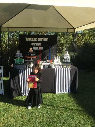 Star Wars Theme Birthday Party Birthday Boy
