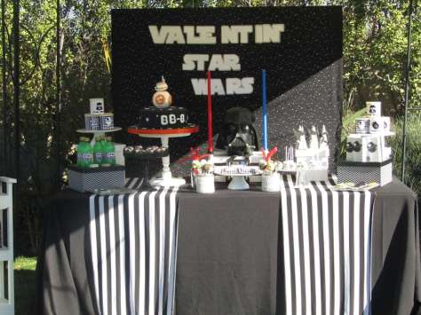 Star Wars Theme Birthday Party Decoration 6