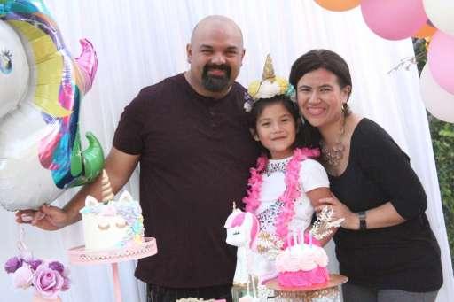 Unicorn Theme Birthday Party Birthday Girl 3