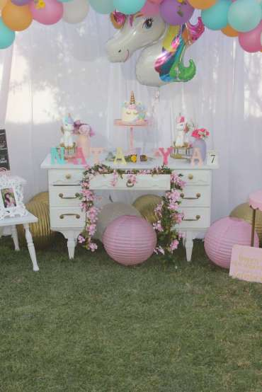 Unicorn Theme Birthday Party Decoration 9
