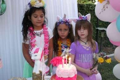 Unicorn Theme Birthday Party Fun 2