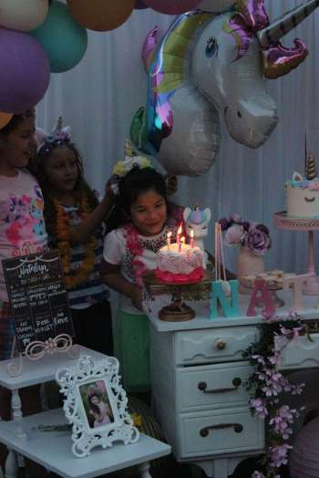 Unicorn Theme Birthday Party Fun 4