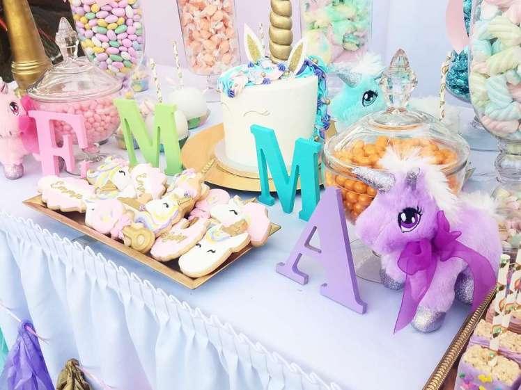 Unicorn Theme Party Cake 2