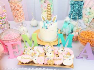 Unicorn Theme Party Cake