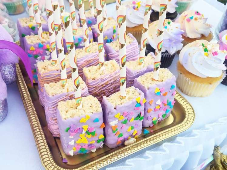 Unicorn Theme Party Food
