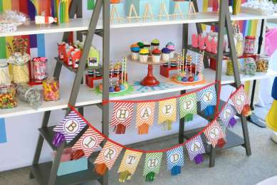 Art Theme Birthday Party Decoration 1