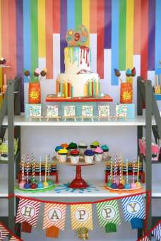 Art Theme Birthday Party Decoration 3