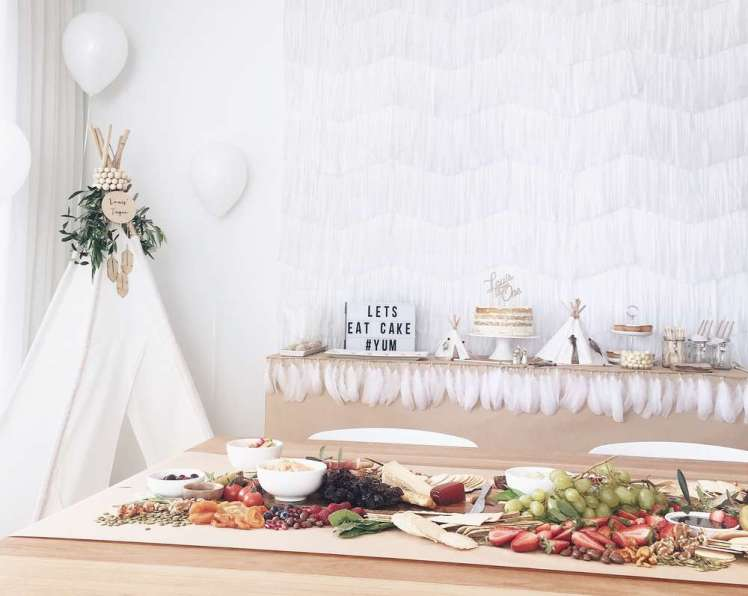 Boho Chic Theme Birthday Party Decoration 1