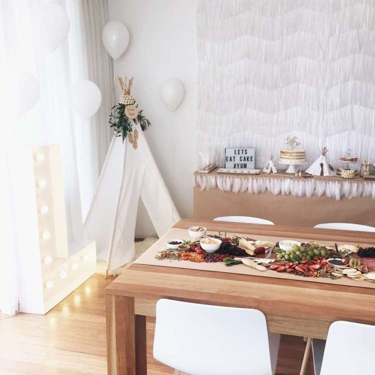 Boho Chic Theme Birthday Party Decoration 2