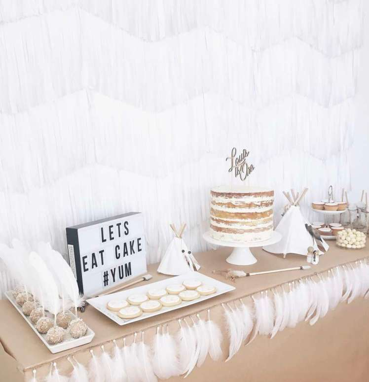 Boho Chic Theme Birthday Party Decoration 3