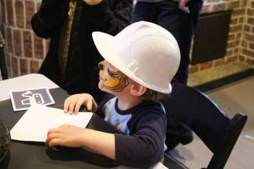Construction Theme Birthday Party Birthday Boy 2