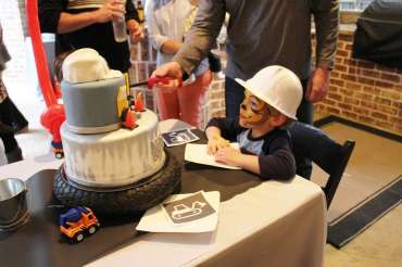 Construction Theme Birthday Party Birthday Boy