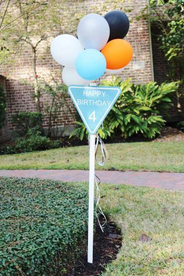 Construction Theme Birthday Party Decoration 2