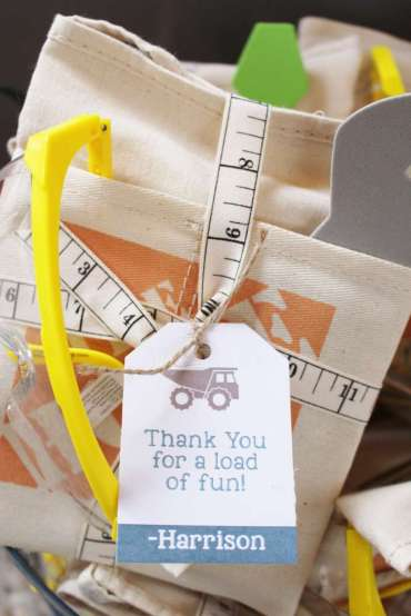 Construction Theme Birthday Party Return Gifts 2