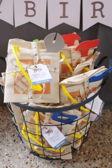 Construction Theme Birthday Party Return Gifts