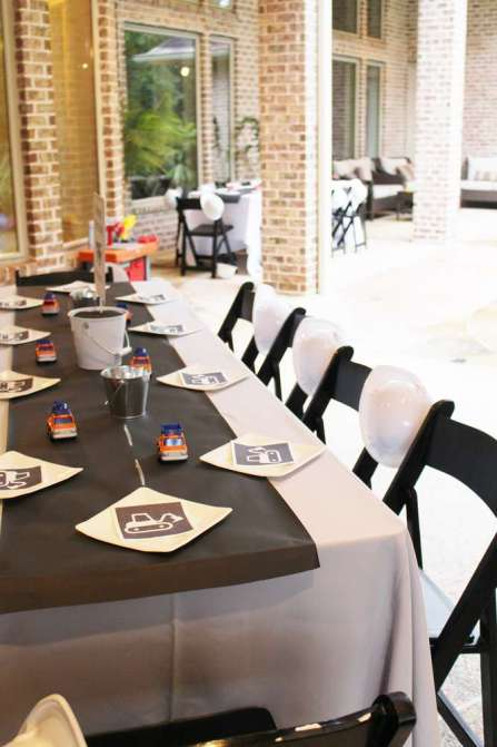 Construction Theme Birthday Party Venue 2