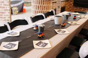 Construction Theme Birthday Party Venue 3
