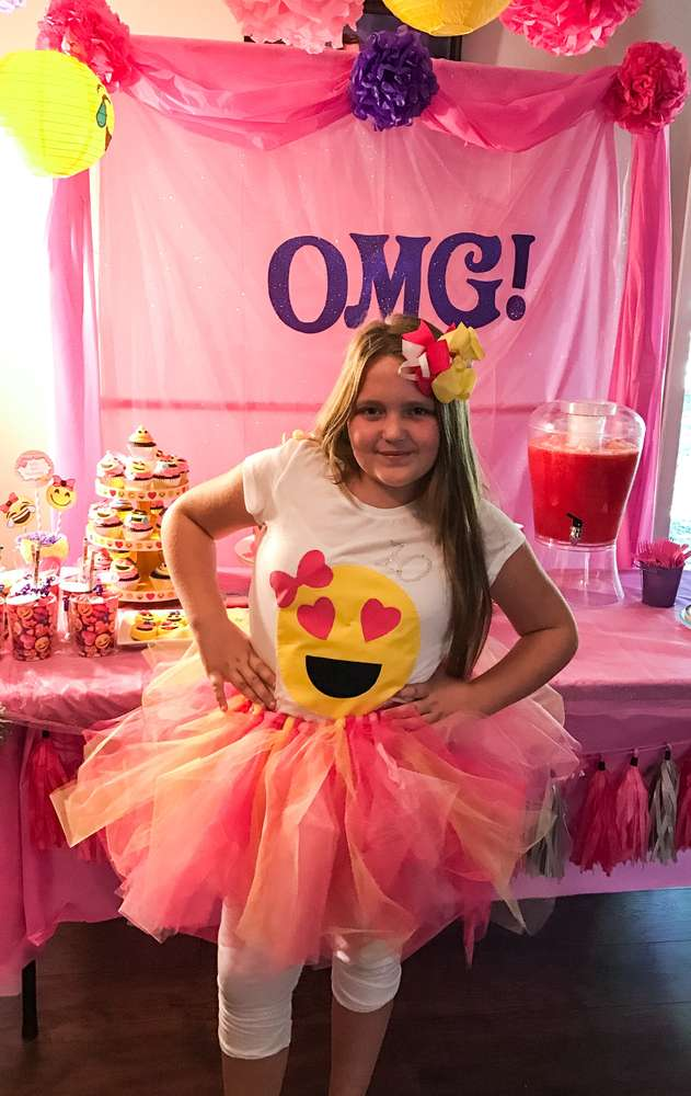 Emoji Theme Birthday Party Birthday Girl