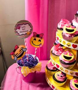 Emoji Theme Birthday Party Decoration 2