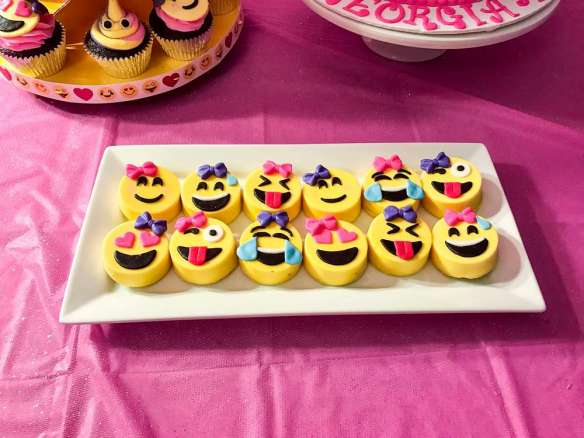 Emoji Theme Birthday Party Food 2
