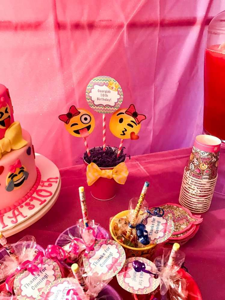 Emoji Theme Birthday Party Food 3