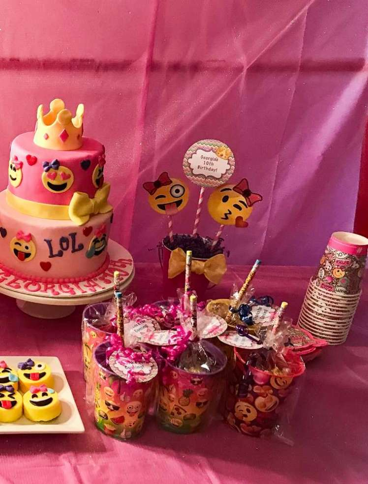 Emoji Theme Birthday Party food 4