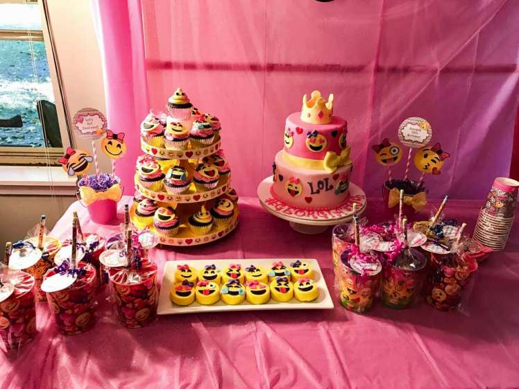 Emoji Theme Birthday Party Food