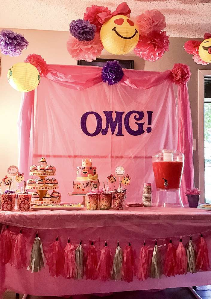 Emoji Theme Birthday Party