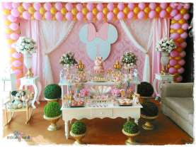 Gold Princess Theme Birthday Party Decoration
