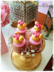 Gold Princess Theme Birthday Party Food 1
