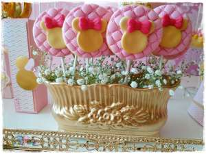 Gold Princess Theme Birthday Party Food 10