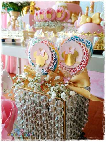Gold Princess Theme Birthday Party Food 4