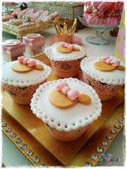 Gold Princess Theme Birthday Party Food 6