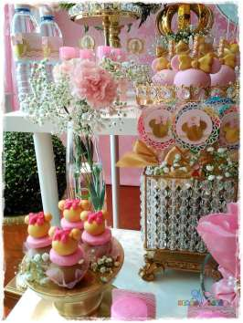 Gold Princess Theme Birthday Party Food 9