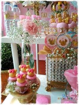 Gold Princess Theme Birthday Party Food 9