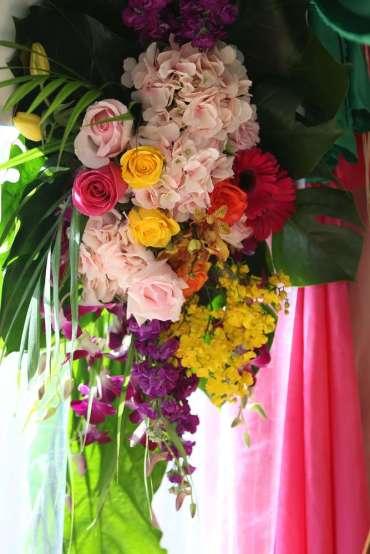 Hawaiian Theme Birthday Party Decoration 2