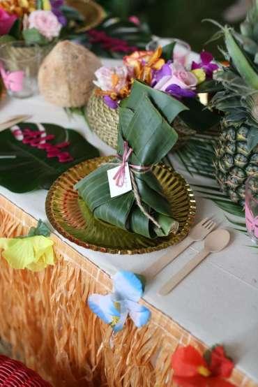 Hawaiian Theme Birthday Party Decoration 3