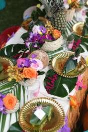 Hawaiian Theme Birthday Party Decoration 4