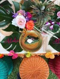 Hawaiian Theme Birthday Party Decoration 5