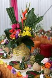 Hawaiian Theme Birthday Party Decoration
