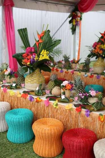 Hawaiian Theme Birthday Party Venue 2