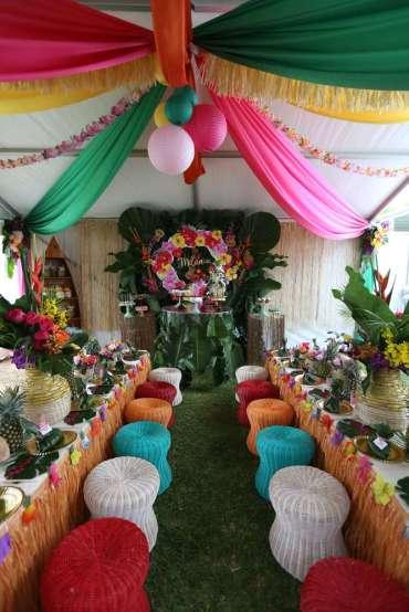 Hawaiian Theme Birthday Party Venue