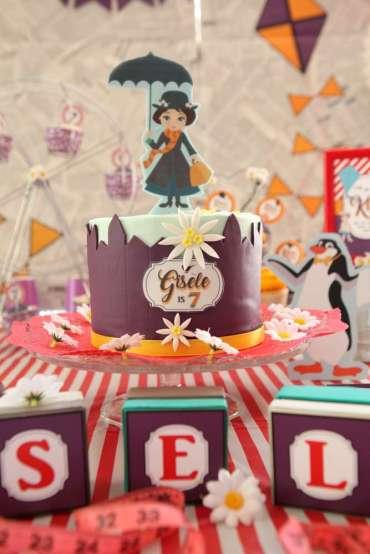 Jolly Holiday Mary Poppins Birthday Party Cake 3