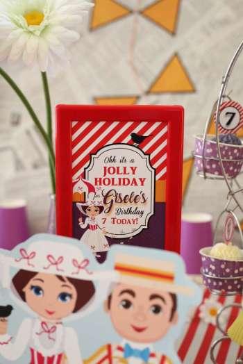 Jolly Holiday Mary Poppins Birthday Party Decoration 2