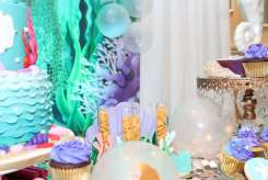 Little Mermaid Theme Birthday Party Decoration 5