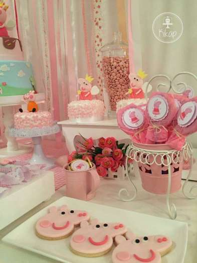 Peppa Pig Theme Birthday Party Decoration 4