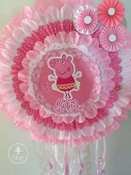 Peppa Pig Theme Birthday Party Decoration 5