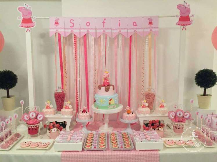Peppa Pig Theme Birthday Party