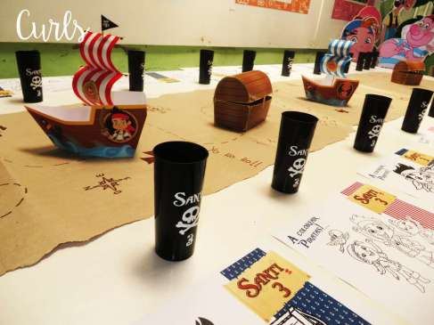 Pirate Theme Birthday Party Decoration 2